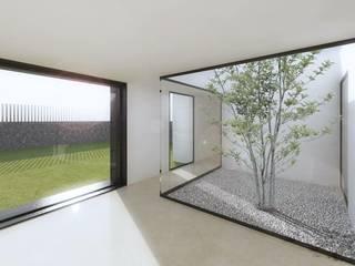 Vivienda Unifamiliar Dormitorios de estilo moderno de Am Arquitectos Moderno