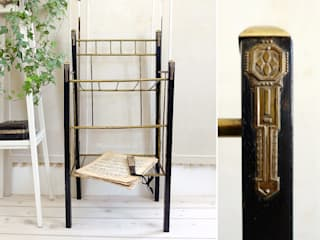 Maisondora Vintage Living Study/officeStorage Kayu Black
