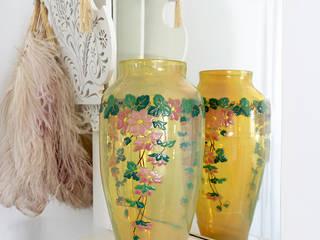 Maisondora Vintage Living SalasAccesorios y decoración Vidrio Amarillo