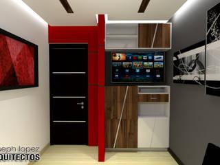 Study/office by arqyosephlopez, Modern