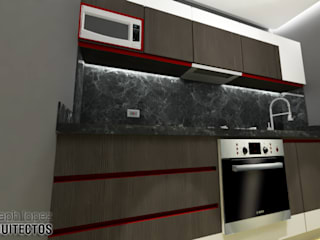 Kitchen by arqyosephlopez, Modern