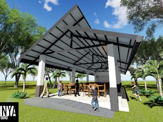 Musuan Elementary School Alumni Cafeteria: modern  by Arkilinya Design Studio, Modern