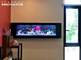 Stunning Wall Living Art for Your Space - 5 feet crystal black coral setup: modern  by Seazone Innovative Sdn Bhd, Modern