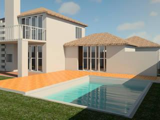 Дома на одну семью в . Автор – Müller Architecture SA, Классический