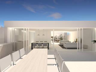 Ampliación de planta ático:  de estilo  de NAYA Arquitectura y Diseño Gráfico