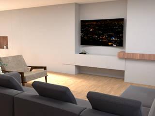 Salones de estilo minimalista de IAM Interiores Minimalista