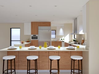 Thornhill Estate Kitchen:  Kitchen by Linken Designs ,