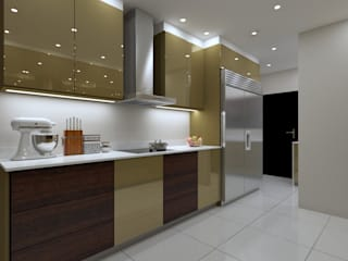LUXURY KITCHEN:  Built-in kitchens by Linken Designs ,