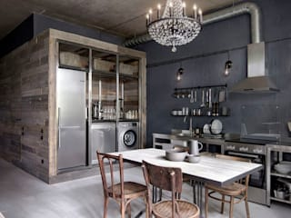 INT2architecture Kitchen units Iron/Steel Grey