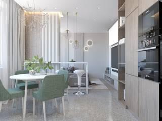 Moderne Küchen von Студия дизайна и визуализации интерьеров Ивановой Натальи. Modern