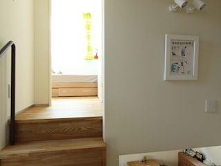 フリースペース|上野毛の家: U建築設計室が手掛けた廊下 & 玄関です。