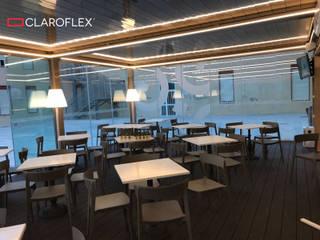 Restaurante Pizzeria: Bares y Clubs de estilo  de CLAROFLEX
