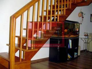Ahşap Taşıyıcılı Merdivenler RST Ahşap Merdivenci Modern