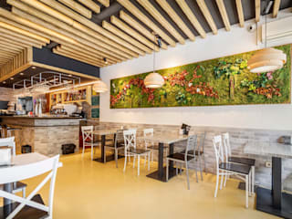 Reforma de restaurante en calle Alcalá, Madrid de DOSALCUBO OBRAS Y PROYECTOS Ecléctico
