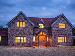 Journey's End, Salisbury Country style houses by D&N Construction Limited Country