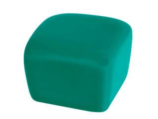 Ceramics handles - Cube - colour marine glossy glaze Viola Ceramics Studio ArteAltri oggetti d'arte Ceramica Grigio