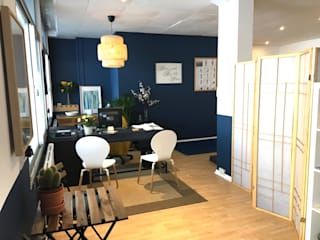 Design of a boutique gym Scandinavian style commercial spaces by Belle & Cosy Interior Design Scandinavian