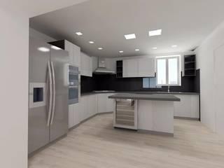 Casa MF_SP: Cucina in stile  di Bartolomeo Fiorillo
