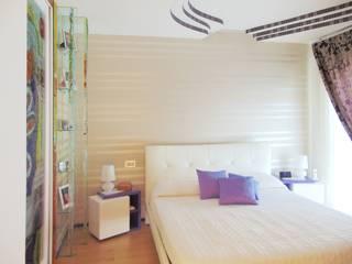 Appartamento 1 - Orta Nova (FG): Camera da letto in stile  di Studio di Architettura e Design Giovanni Scopece