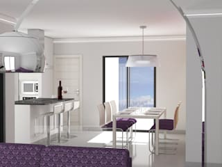 Salle à manger moderne par Curra Garrido Moderne