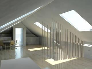 Ruang Studi/Kantor Minimalis Oleh darq - arquitectura, design, 3D Minimalis