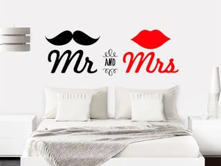 Vinilo decorativo MR. & MRS.:  de estilo  por TopList