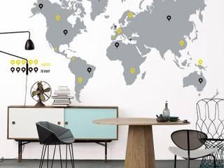 Vinilo Decorativo World Trip:  de estilo  por TopList