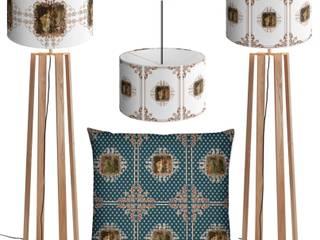 Tissu ameublement décoration tapisserie Toile de Jouy Empire Baroque Rococo:  de style  par Rideau-voile, Classique