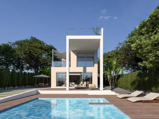 Luxury Villa at La Nucía, Alicante by Pacheco & Asociados Modern