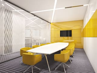 Interior and Architects Ideas Modern office buildings by KreateCube Modern