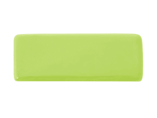 Ceramics handles – Rectangle – colour green lime glossy glaze Viola Ceramics Studio ArteAltri oggetti d'arte Ceramica Verde