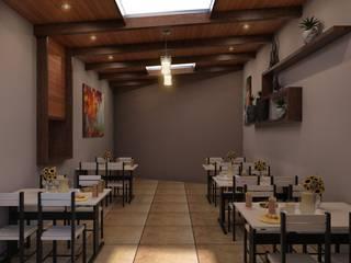 Restaurante: Comedores de estilo  por Eutopia Arquitectura
