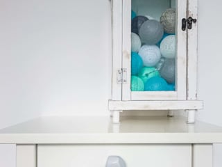 Ceramics handles – Polyhedron - colour light grey glossy glaze Viola Ceramics Studio ArteAltri oggetti d'arte Ceramica Grigio