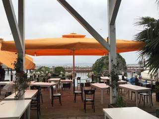 Akaydın şemsiye Gastronomy Aluminium/Zinc Orange