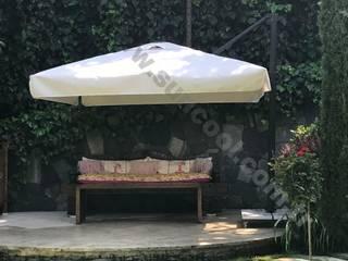 Akaydın şemsiye Front yard Aluminium/Zinc Beige