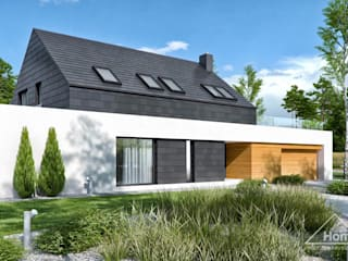 Projekt domu HomeKONCEPT 50: styl , w kategorii Dom jednorodzinny zaprojektowany przez HomeKONCEPT | Projekty Domów Nowoczesnych