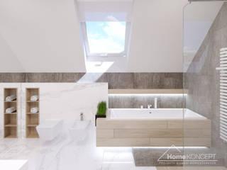 Projekt domu HomeKONCEPT 50: styl , w kategorii Łazienka zaprojektowany przez HomeKONCEPT | Projekty Domów Nowoczesnych