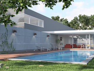 Rendering All Single family home Concrete Grey
