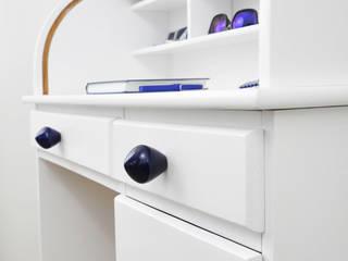 Ceramics handles – Little top - colour cobalt glossy glaze Viola Ceramics Studio ArteAltri oggetti d'arte Ceramica Blu