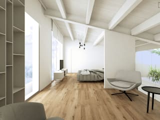 Phòng ngủ theo DFG Architetti,
