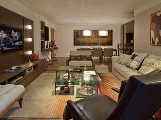 Sala de Estar: Salas de estar  por Rosane França Arquitetura