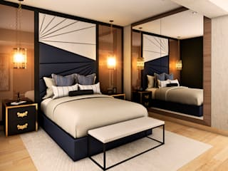 Modern style bedroom by Luis Escobar Interiorismo Modern