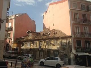 Edifício existente:   por Pedro Ferro Alpalhão Arquitecto