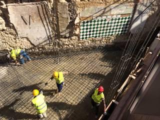Construção de solução estrutural em betão armado:   por Pedro Ferro Alpalhão Arquitecto