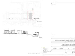 Perfil de inserção volumétrica: Pavimentos  por Pedro Ferro Alpalhão Arquitecto