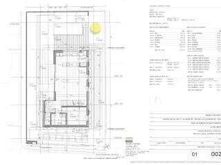 Planta piso 0: Pavimentos  por Pedro Ferro Alpalhão Arquitecto