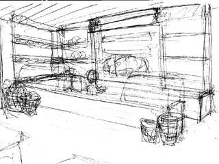 ทันสมัย  โดย darq - arquitectura, design, 3D, โมเดิร์น