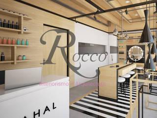 AHAL Espacios comerciales de estilo industrial de INEIN Industrial