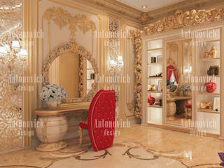​The most beautiful interiors from Katrina Antonovich:  Bedroom by Luxury Antonovich Design