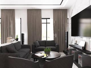 Semi Detached House—horizon hill, Johor Bahru,Malaysia by Enrich Artlife & Interior Design Sdn Bhd
